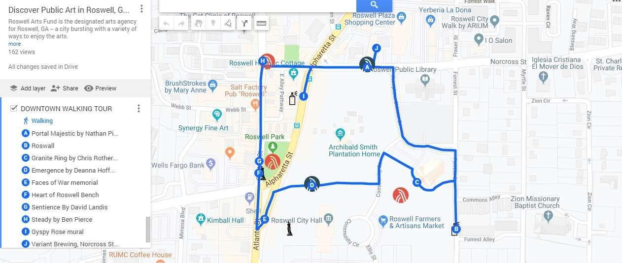 2019 Downtown walking tour